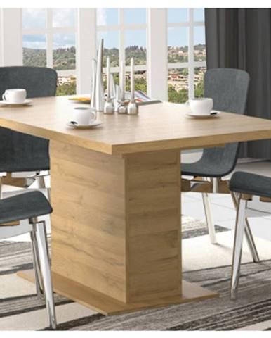 Rozkladací jedálenský stôl Havana 160x90 cm, starý dub%