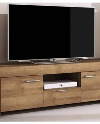 TV skrinka s policou Sky, dub riviera%