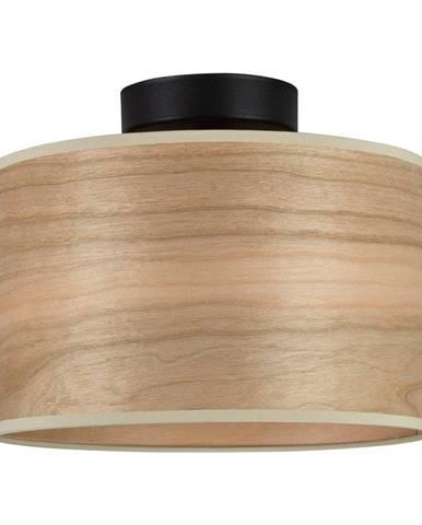 Stropné svietidlo s tienidlom z dreva čerešne Sotto Luce TSURI S