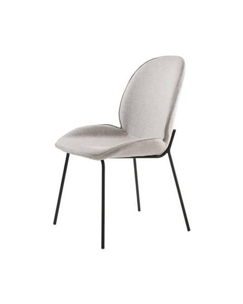 Canett Sivá jedálenská stolička Canett Hella