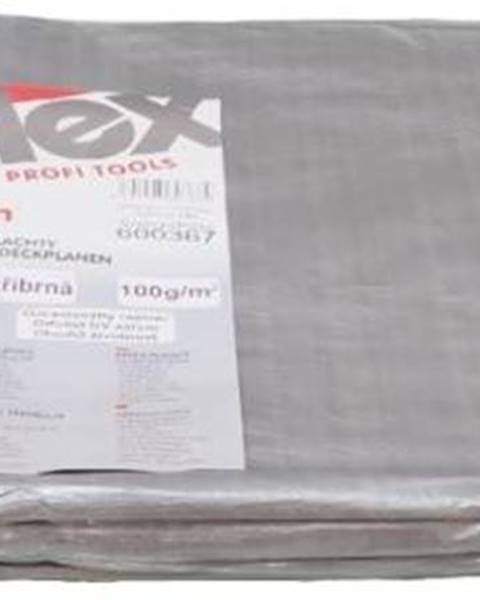 Kinekus Plachta 4x6m 100g/m STRIEBORNÁ