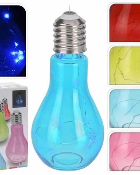 Kinekus Lampa žiarovka 9x19cm, mix farieb