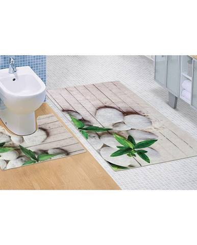 Bellatex Kúpeľňová predložka Jadran 3D, 60 x 100 + 60 x 50 cm