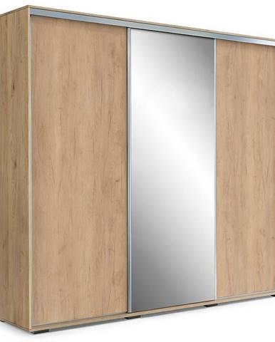 Skriňa Aniela A25 250 Zrkadlo/Kraft Zlatá