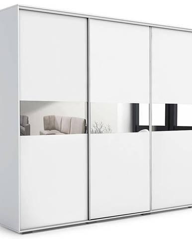 Skriňa Daria A27 250 Zrkadlo Biely