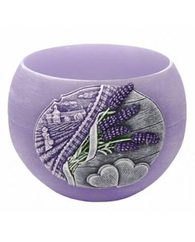 Dekoratívna sviečka Lavender Kiss lampión