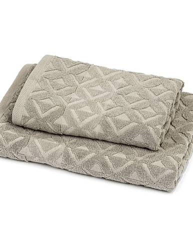 Trade Concept Sada Rio uterák a osuška sivá, 50 x 100 cm, 70 x 140 cm