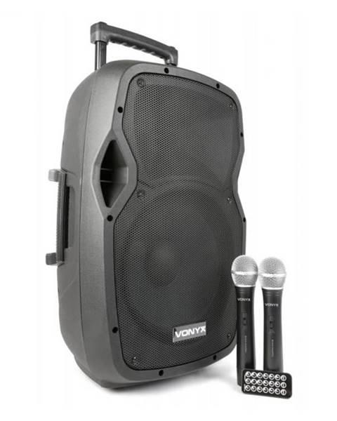 Vonyx Vonyx AP1200PA mobilné PA zariadenie 30 cm (12'') bluetoothUSB SD MP3 VHFnabíjacia batéria