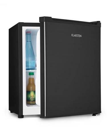 Klarstein Snoopy Eco, mini chladnička s mraziacim boxom, A++, 46 litrov, 41 dB, čierna