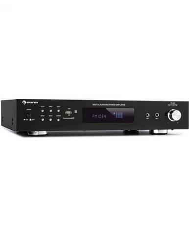 Auna AMP-9200, BT, digiálny stereo zosiľňovač, 2x60W RMS, BT, 2xmikrofón, čierny
