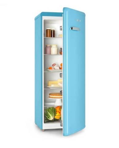Klarstein Irene XL, chladnička, 242 l, retro dizajn, 4 poličky, A+, modrá