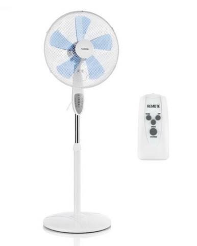 Klarstein Summerjam, stojanový ventilátor, 41 cm, 50 W, 3 stupne rýchlosti, diaľkový ovládač, biely