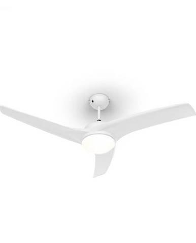 """Klarstein Figo, stropný ventilátor, 52"""", 55 W, stropná lampa, 2 x 42 W, diaľkový ovládač, biely"""