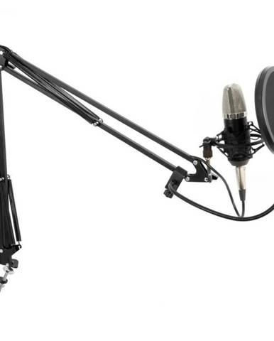 Vonyx Studio Set veľkomembránový mikrofón vrátane ramena, pavúka, protiveternej ochrany, kábla