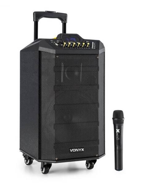 Vonyx Vonyx VPS10, audio PA systém, 250W, USB/SD port, bluetooth, 12V/4,5Ah, batéria