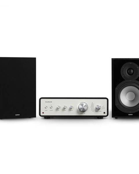 Numan Numan Drive 802, stereo sada, stereo zosilňovač, regálový reproduktor, čierna