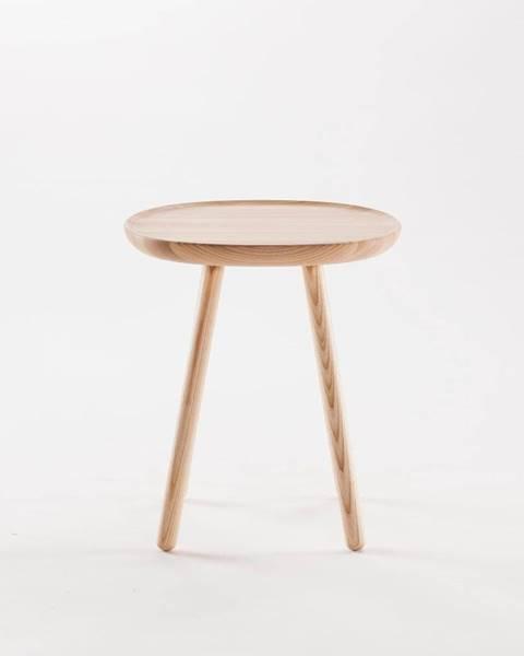 EMKO Prírodný odkladací stolík z masívu EMKO Naïve, ø45cm