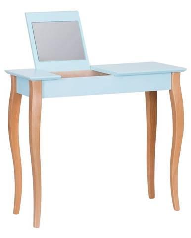 Svetlotyrkysový toaletný stolík sozrkadlom Ragaba Dressing Table,dĺžka85cm