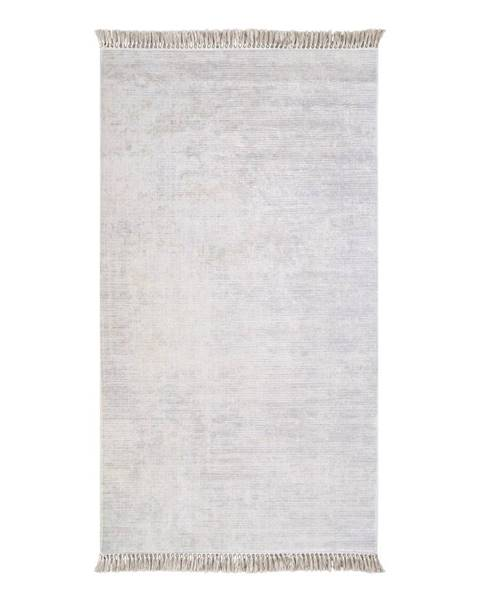 Vitaus Sivý koberec Vitaus Hali Geometrik, 50×80cm
