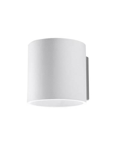 Biele nástenné svietidlo Sollux Roda
