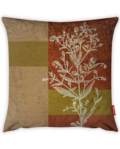 Obliečka na vankúš Vitaus Autumn Parade Tree, 43×43 cm