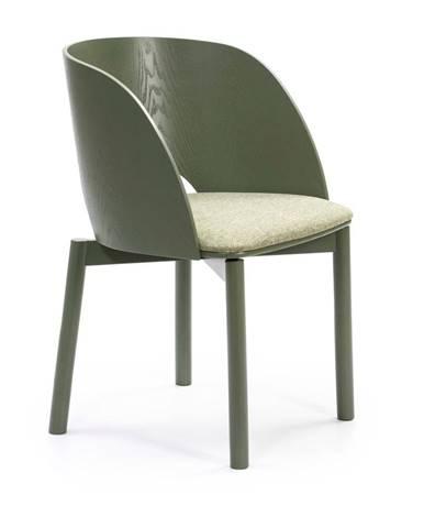 Zelená stolička Teulat Dam