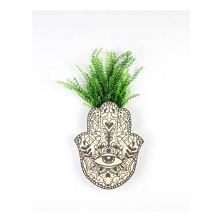 Nástenný kvetináč z bukového dreva Surdic Fatima Hand