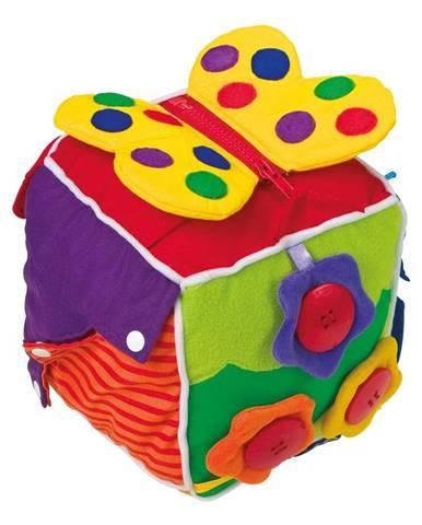 Plyšová kocka pre rozvoj motoriky Legler Baby&