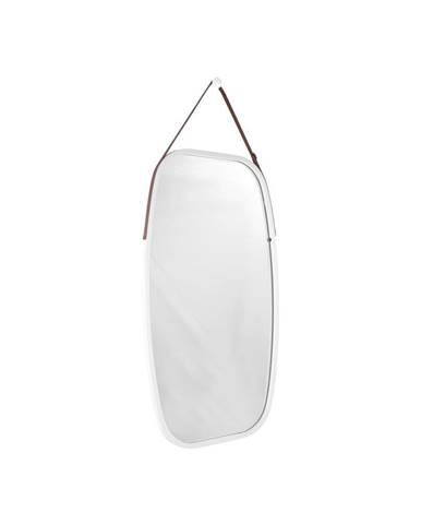 Nástenné zrkadlo v bielom ráme PT LIVING Idylic, dĺžka 74 cm