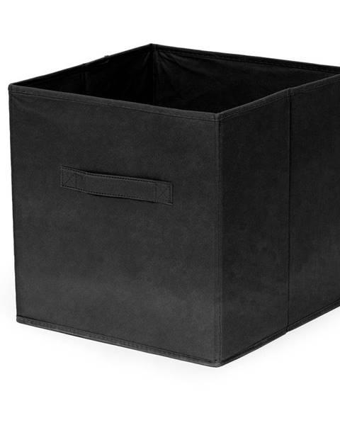 Compactor Čierny skladací úložný box Compactor Foldable Cardboard Box
