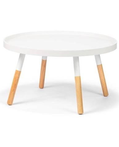 Biely konferenčný stolík loomi.design Lora