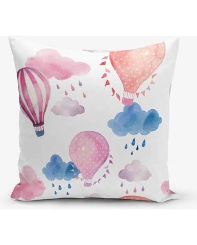 Obliečka na vankúš s prímesou bavlny Minimalist Cushion Covers Balon, 45×45 cm