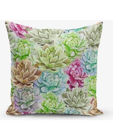 Obliečka na vankúš s prímesou bavlny Minimalist Cushion Covers Lily, 45×45 cm