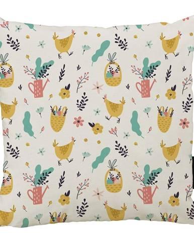 Vankúš Butter Kings z bavlny Easter Harvest IV., 45 x 45 cm