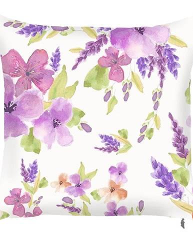 Obliečka na vankúš Mike&Co.NEWYORK Field Flowers, 43 × 43 cm