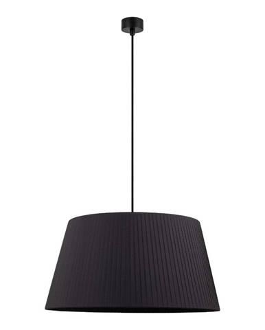 Čierne závesné svietidlo Sotto Luce Kami, ∅ 54 cm