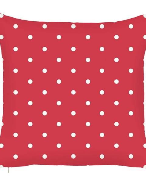 Apolena Červená obliečka na vankúš Mike&Co.NEWYORK Dots, 43 × 43 cm