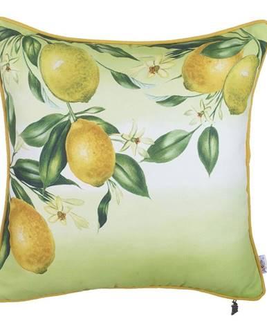 Obliečka na vankúš Mike&Co.NEWYORK Lemons, 43 × 43 cm