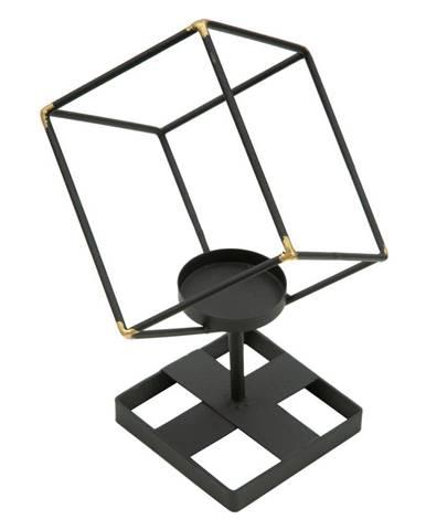 Čierny svietnik zo železa Mauro Ferretti Square