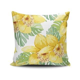 Vankúš s prímesou bavlny Cushion Love Heleno, 45 × 45 cm