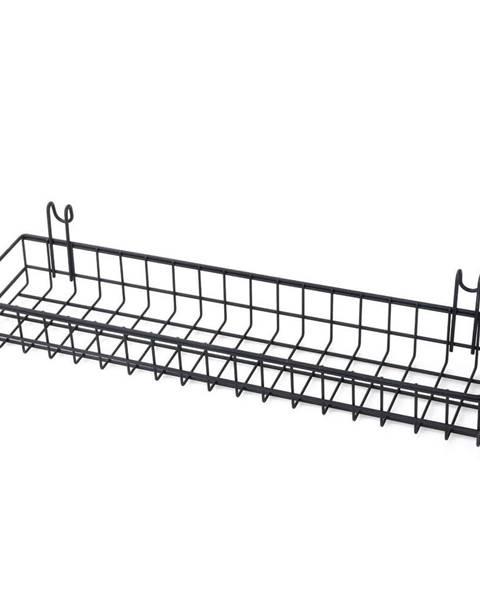 Bonami Čierny prídavný košík k nástenke Reminder, dĺžka 40 cm