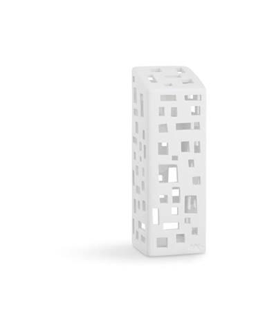 Biely keramický svietnik Kähler Design Urbania LighthoHigh Building