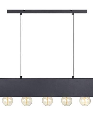Čierne závesné svietidlo Markslöjd Couture