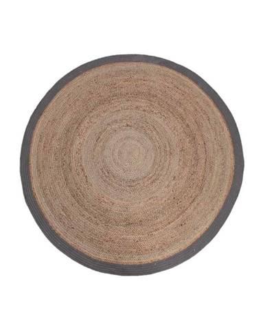 Koberec z konopného vlákna LABEL51 Rug,⌀180 cm