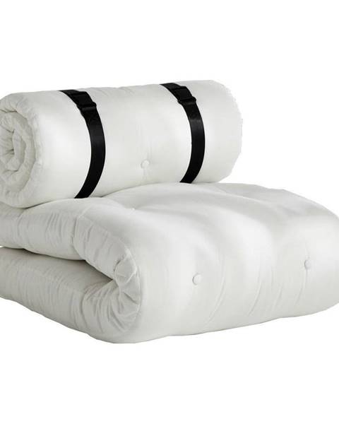 Karup Design Biele rozkladacie kresielko vhodné do exteriéru Karup Design Design OUT™ Buckle Up White
