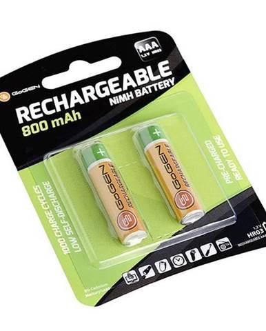 Batéria nabíjacie Gogen AAA, HR03, 800mAh, Ni-MH, blistr 2ks