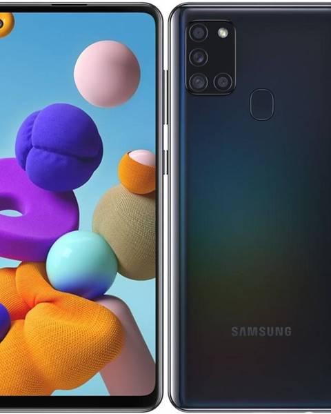 Samsung Mobilný telefón Samsung Galaxy A21s 32 GB čierny