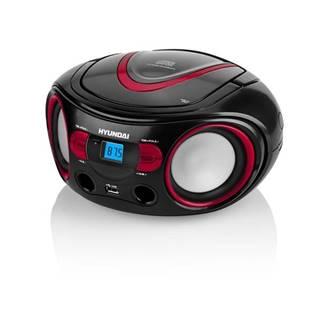 Rádioprijímač s CD Hyundai TRC 533 Au3br čierny/červen