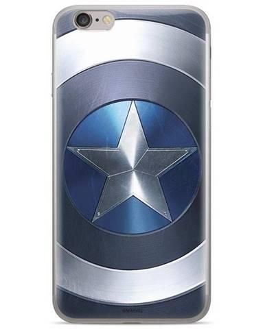 Kryt na mobil Marvel Captain America na Huawei P20 Lite modrý