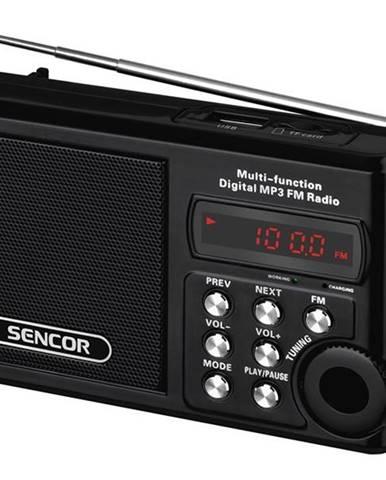 Rádioprijímač Sencor SRD 215 B čierny